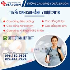 Tuyển sinh Cao đẳng Y dược trường Cao đẳng Y Dược Sài Gòn năm 2018